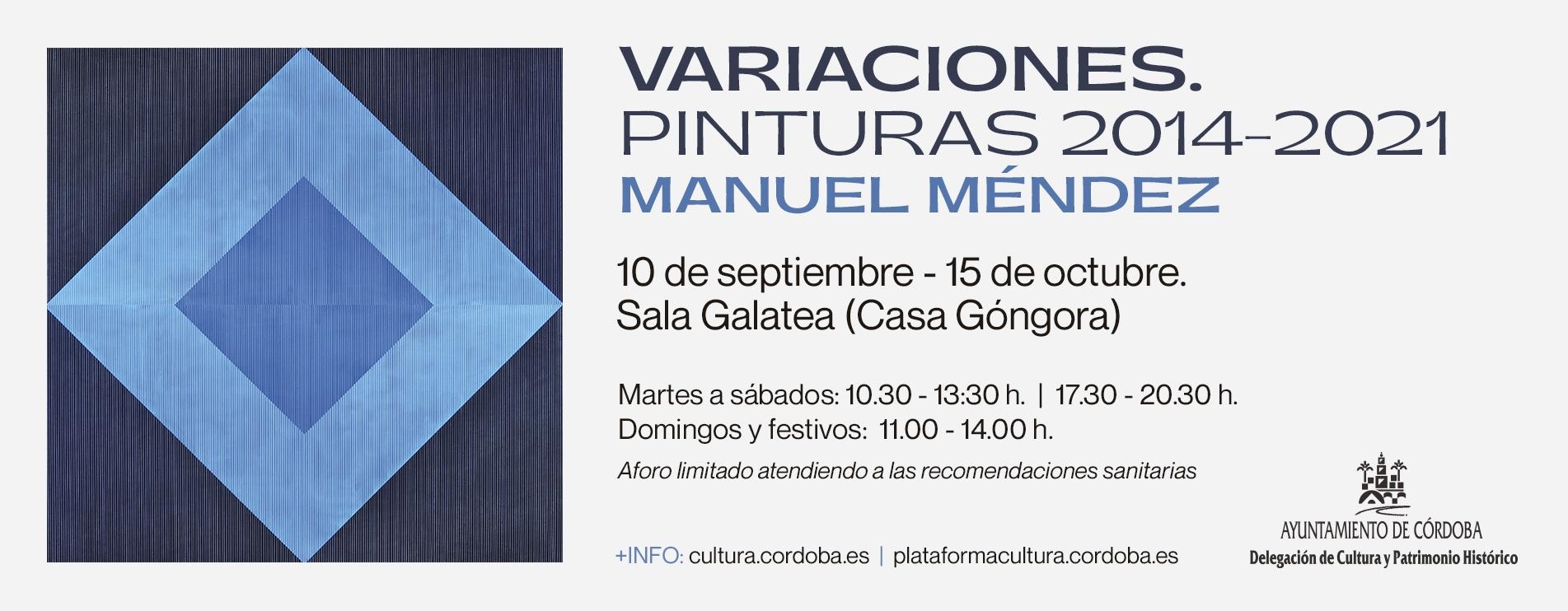 """""""Variaciones. Pinturas 2014-2021"""""""