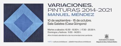 """Imagen del evento """"Variaciones. Pinturas 2014-2021"""""""