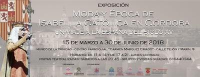 Imagen del evento Moda y época de Isabel la Católica en Córdoba
