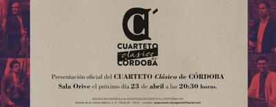 Image de Presentación oficial del Cuarteto Clásico de Córdoba