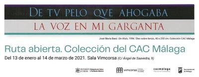 Imagen del evento Ruta Abierta. Colección del CAC Málaga