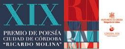 """Imagen del evento XIX Premio de Poesía Ciudad de Córdoba """"Ricardo Molina"""". 2011"""
