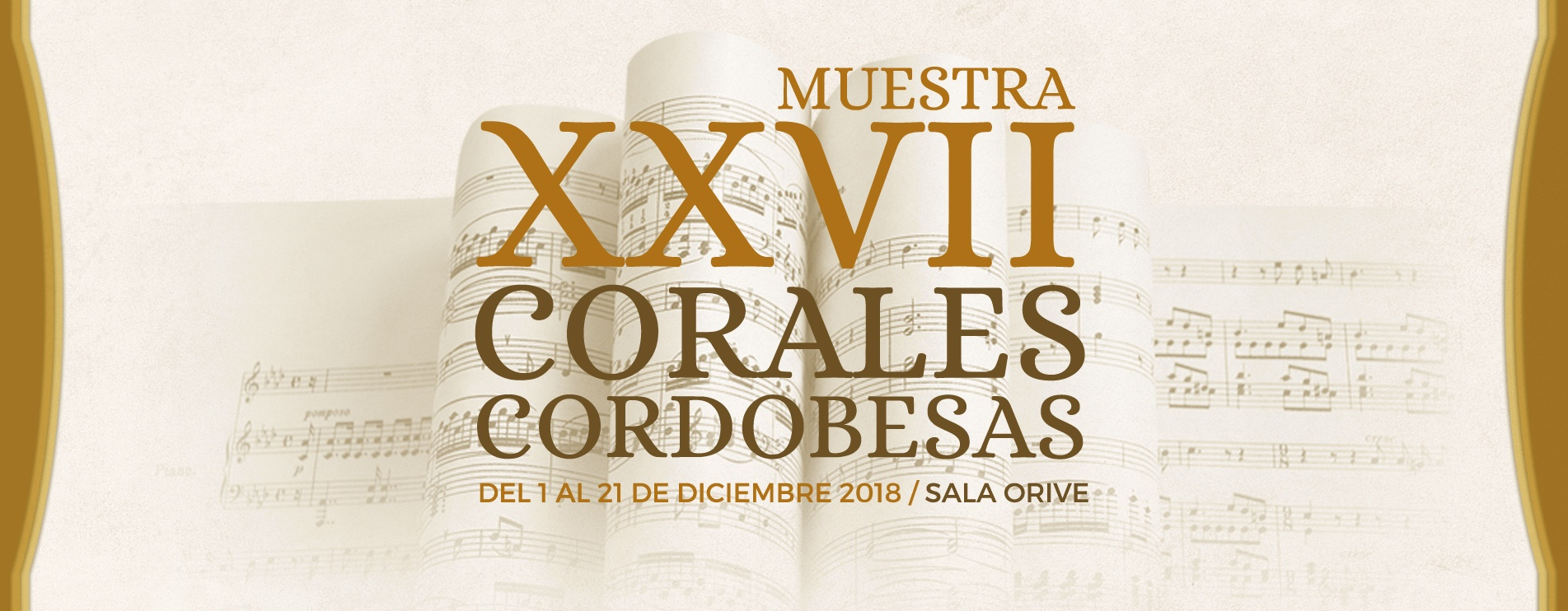 XXVII Muestra de Corales Cordobesas