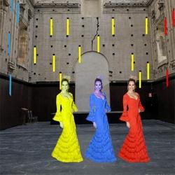 Danza Bauhaus 101, Ballet triádico flamenco